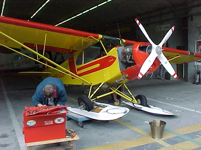 Restauration Piper-PA-18-180