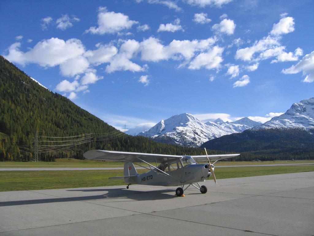 Aeronca Champion 7BCM HB-ETD