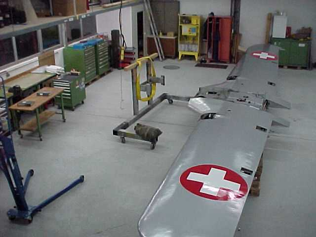 Aufbau Pilatus P-2 HB-RAY
