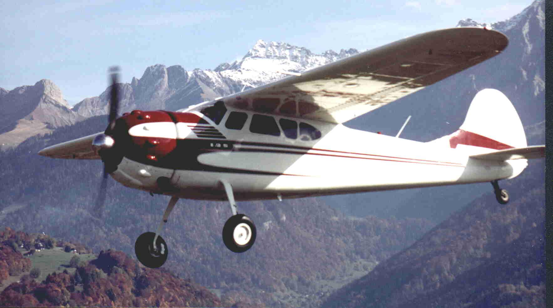 Umbau Cessna C195 NC3081B
