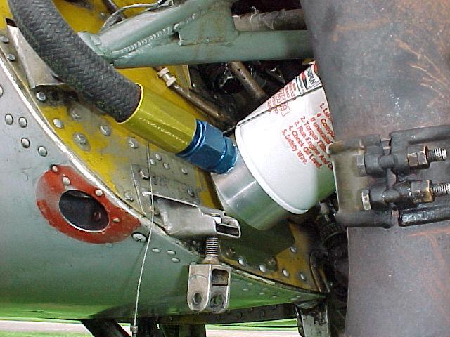 Umbau Oelsystem Yak 18 T